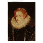 Retrato de la reina Elizabeth I Tarjetón