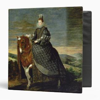"""Retrato de la reina Margaret de Austria 1629-35 Carpeta 1 1/2"""""""