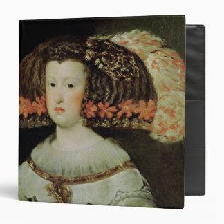 """Retrato de la reina Maria Ana de España Carpeta 1 1/2"""""""