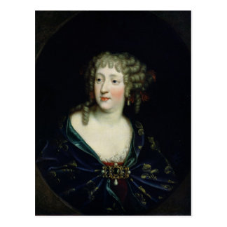 Retrato de la reina Marie-Teresa de Francia Tarjeta Postal