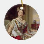 Retrato de la reina Victoria (1819-1901) 1859 Adorno Para Reyes
