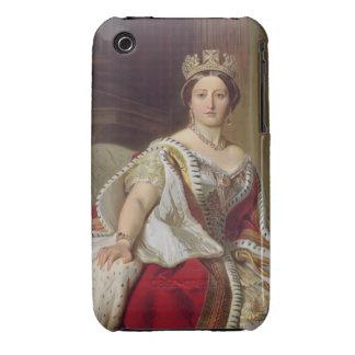 Retrato de la reina Victoria (1819-1901) 1859 iPhone 3 Case-Mate Carcasa