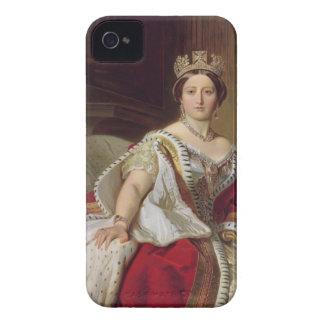 Retrato de la reina Victoria (1819-1901) 1859 iPhone 4 Cárcasa