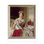 Retrato de la reina Victoria (1819-1901) 1859 Postales