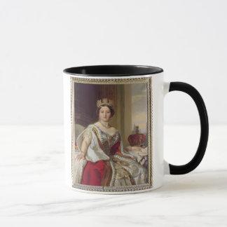 Retrato de la reina Victoria (1819-1901) 1859 Taza