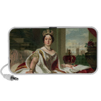 Retrato de la reina Victoria Notebook Altavoz