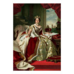 Retrato de la reina Victoria Impresiones