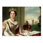 Retrato de la reina Victoria Tarjetas Postales