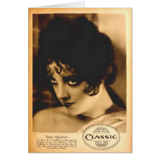 Retrato de la revista de la película de Nena Quart Felicitaciones