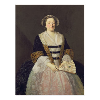 Retrato de la señora desconocida tarjetas postales
