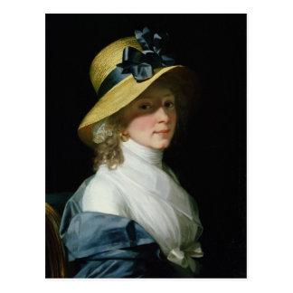 Retrato de la Señora senador Elisabeth Hudtwalcker Postal