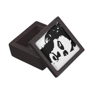 Retrato de la sombra de Frida Caja De Joyas De Calidad