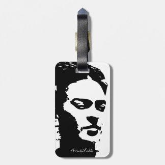 Retrato de la sombra de Frida Etiquetas Maleta