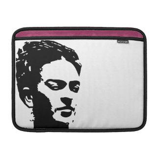 Retrato de la sombra de Frida Fundas Para Macbook Air