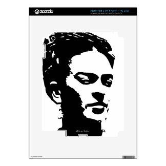 Retrato de la sombra de Frida Pegatinas Skins Para iPad 3