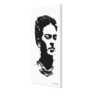 Retrato de la sombra de Frida Lienzo Envuelto Para Galerías
