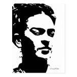 Retrato de la sombra de Frida Postales