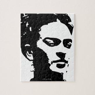 Retrato de la sombra de Frida Puzzles Con Fotos