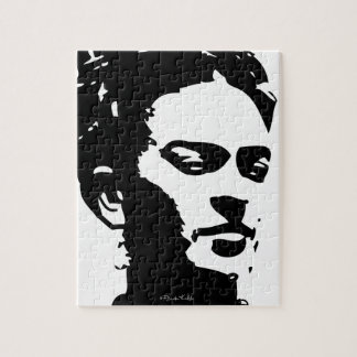 Retrato de la sombra de Frida Puzzles