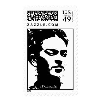 Retrato de la sombra de Frida Sello Postal