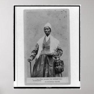 Retrato de la verdad del Sojourner Poster