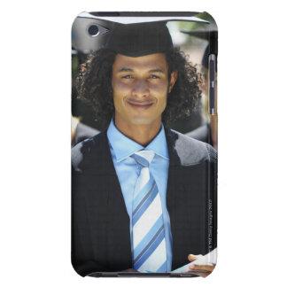 Retrato de la vista delantera de cuatro personas Case-Mate iPod touch carcasas