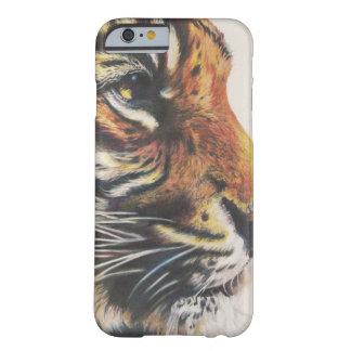 Retrato de la vista lateral del tigre