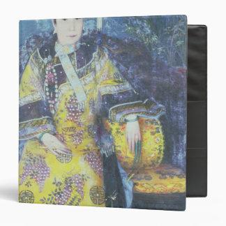 Retrato de la viuda de emperatriz Cixi