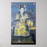 Retrato de la viuda de emperatriz Cixi Póster
