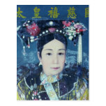 Retrato de la viuda de emperatriz Cixi Tarjetas Postales