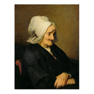 Retrato de la viuda Roumy Postal