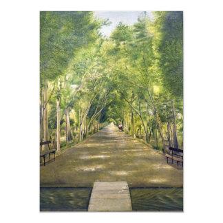 """Retrato de las colinas de Duchamp del ol Dushan Invitación 5"""" X 7"""""""