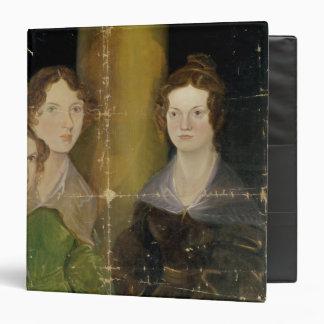"Retrato de las hermanas de Bronte, c.1834 Carpeta 1 1/2"""