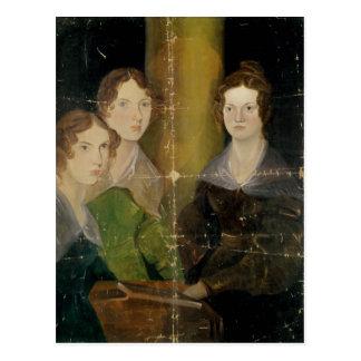 Retrato de las hermanas de Bronte, c.1834 Postales