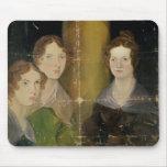 Retrato de las hermanas de Bronte, c.1834 Tapetes De Ratones