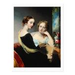 Retrato de las hermanas de McEuen, después de 1823 Postales