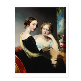 Retrato de las hermanas de McEuen, después de 1823 Tarjetas Postales