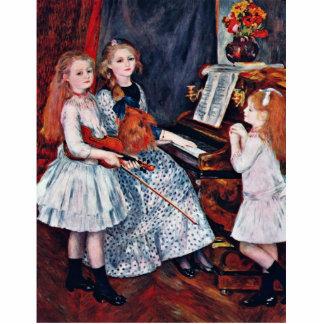 Retrato de las hijas de Catulle-Mendes Esculturas Fotograficas