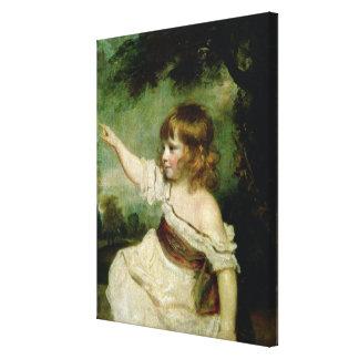 Retrato de las liebres de Francisco George, el más Lona Envuelta Para Galerías