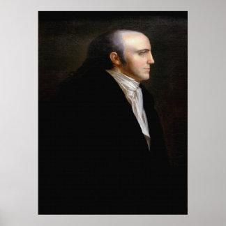 Retrato de las REBABAS de AARON de Juan Vanderlyn Posters
