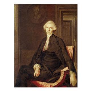 Retrato de Laurence Sterne Postal