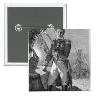 Retrato de Laurent de Gouvion Santo-Cyr Pin Cuadrado