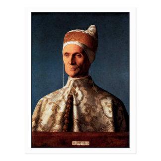 Retrato de Leonardo Loredan de Juan Bellini Tarjetas Postales