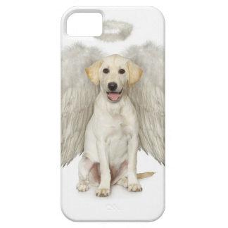Retrato de llevar blanco del labrador retriever iPhone 5 fundas
