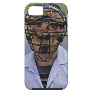 Retrato de llevar del árbitro del béisbol funda para iPhone SE/5/5s