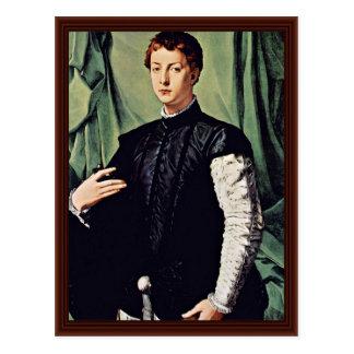 Retrato de Lodovico Capponi de Bronzino Ángel Tarjeta Postal