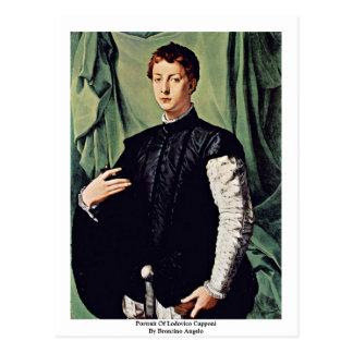 Retrato de Lodovico Capponi de Bronzino Ángel Postales