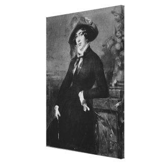 Retrato de Lola Montez, 1844 Impresiones En Lona