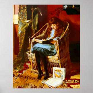 Retrato de los cuentos de hadas de Maria Gow Posters