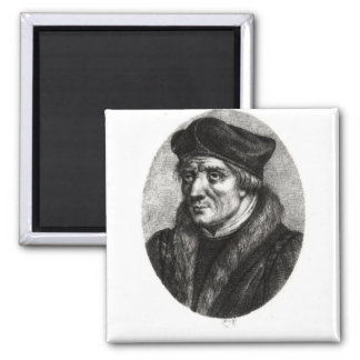 Retrato de los d'Etaples de Jacques Lefevre Imán Cuadrado